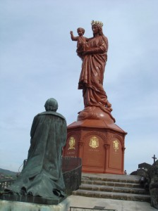 Statue Notre-Dame de la France