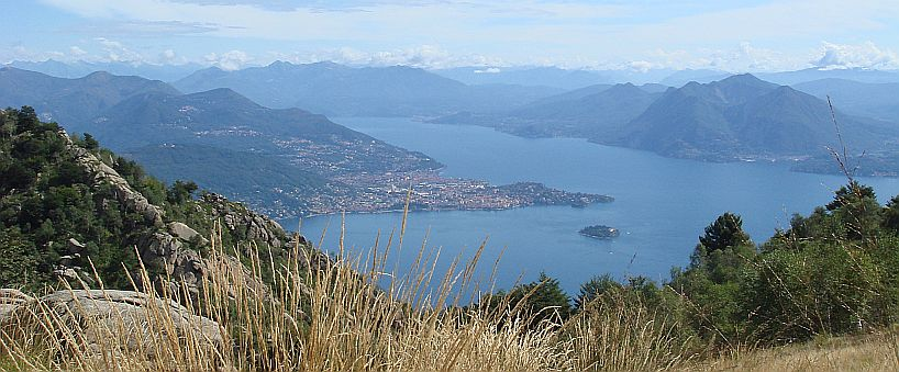 Piemont | Laggo Maggiore vom Monte Mottarone