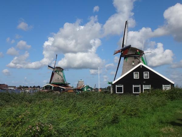 Zaandijk |  historische Windmühlen